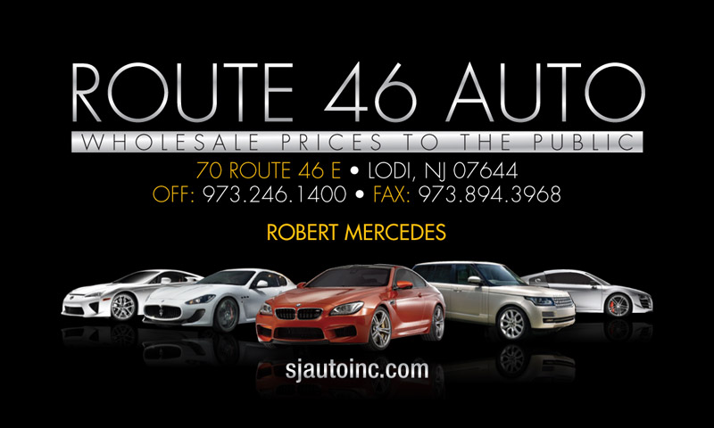 Route 46 Auto Business Cards